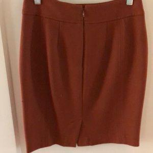 LOFT Skirts - Loft petites burnt orange pencil skirt